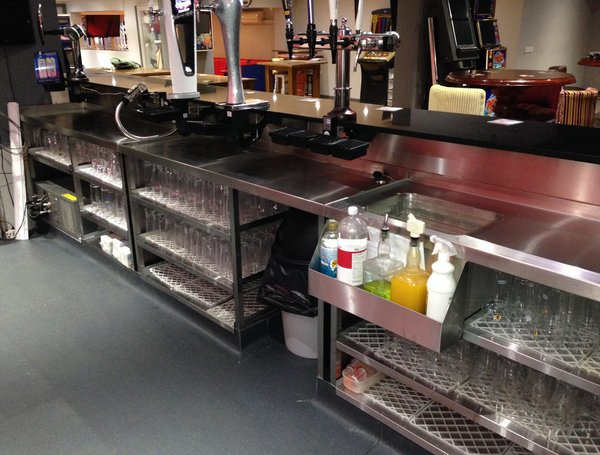 Pod Stainless Womborne Pool Bar After Behind The