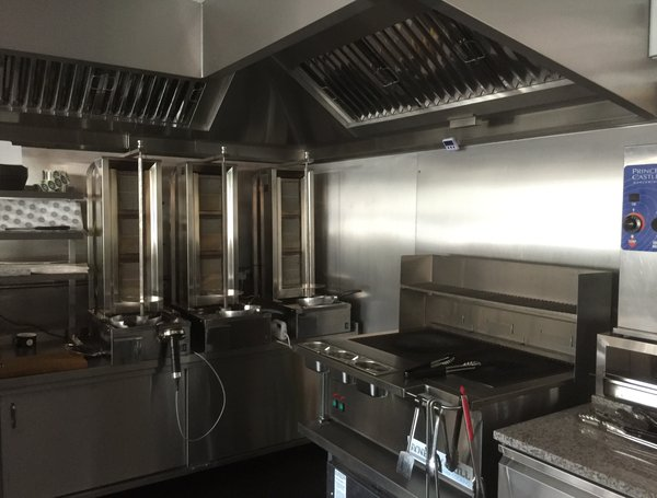 Pod Stainless Island House Gourmet Fish Amp Chip Shop
