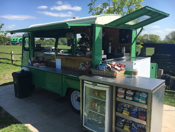 Mobile Food Service Van Ready For Business